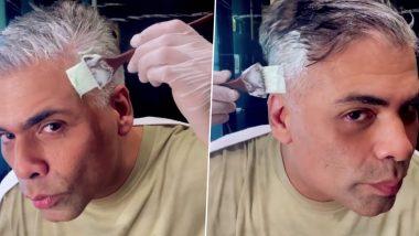 Karan Johar Gets Rid of His White Hair After His Kids Called Him 'Buddha' (Watch Video)