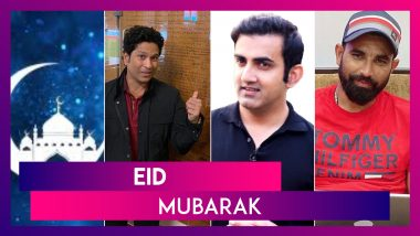 Eid Mubarak: Sachin Tendulkar, Bajrang Punia and Other Sports Personalities Greet People on Eid
