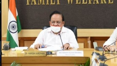 COVID-19 Vaccine Latest News Update: Nearly 30 Anti-Coronavirus Vaccine Candidates Under Development in India, Says Health Minister Harsh Vardhan