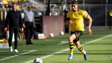Borussia Dortmund Defender Achraf Hakimi Named Bundesliga's Fastest Player Since Data Collection Began