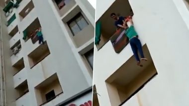 Ahmedabad: After Fight Over Spicy 'Sabzi' with Wife, Husband Threatens to Jump Off Balcony, Bizzare Video Goes Viral