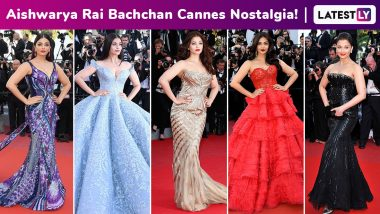 Aishwarya Rai Bachchan Cannes Nostalgia: Dazzling Red Carpet Moments From Her Couture Potpourri French Riviera Arsenal!