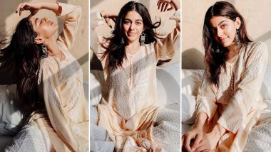Alaya F Loves Basking in the Golden Hour Light, This Mini Ethnic Photoshoot Is the Perfect Result!