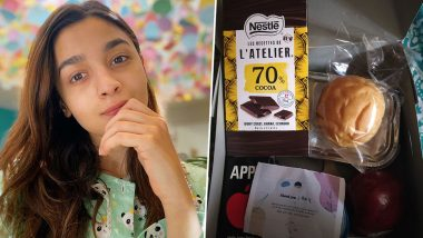 Alia Bhatt Sends A Box Full of Sweet Surprise to Healthcare Workers Amid COVID-19 Pandemic (View Post)