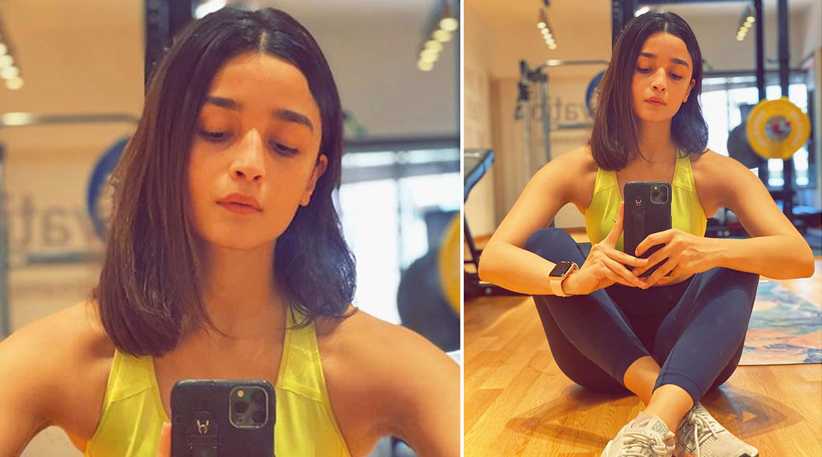 Alia Bhatt Flaunts Her Pretty New Hair Cut, Thanks Her 'Multi-Talented Loved One!' (View Pic)