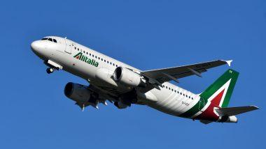 Italy's Carrier Alitalia to Restart Operation Starting June 3, First Time Since Coronavirus Lockdown