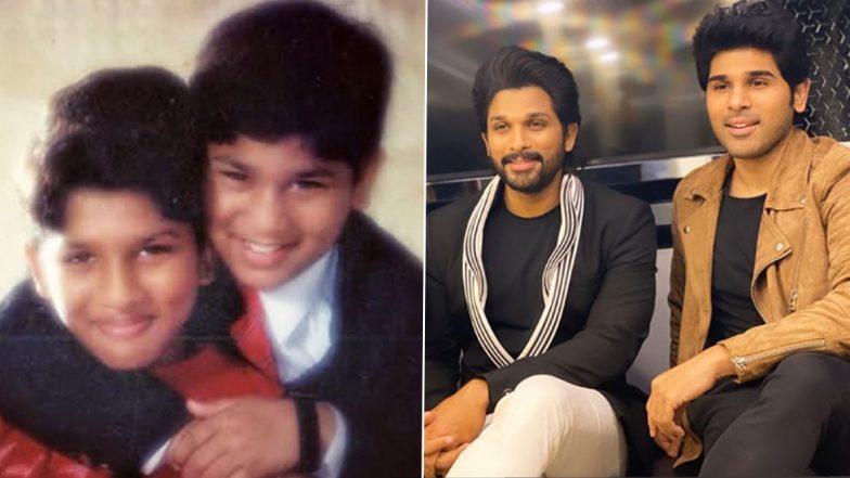 Allu Arjun Shares A Cute Childhood Pic To Wish Brother Allu Sirish On His Birthday!