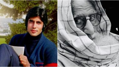 Amitabh Bachchan Shares a 'Then and Now' Post Showing What Changed From Kabhie Kabhie to Gulabo Sitabo With an Amazing Caption!