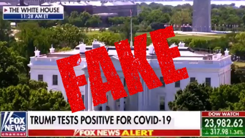 Donald Trump Tested Positive For COVID-19? Fake Video Clip Showing Fox News Running The Report Goes Viral