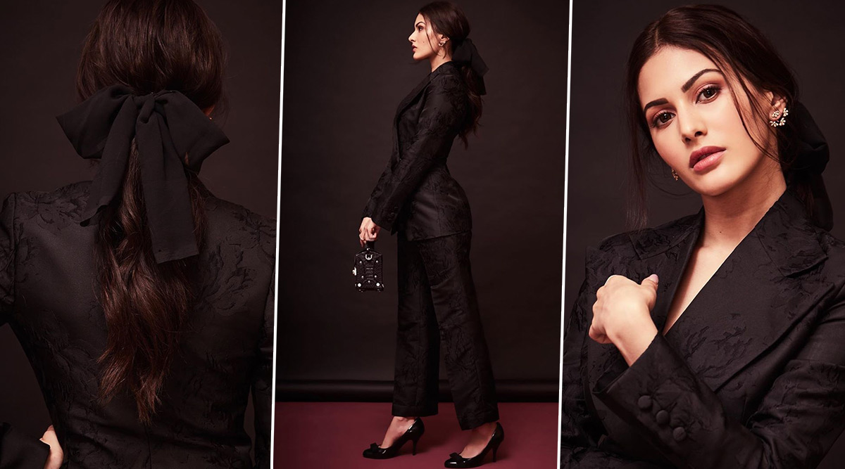 Amyra Dastur Is Minimal Chic but Also Spiffy and Sassy in a Black Pantsuit!