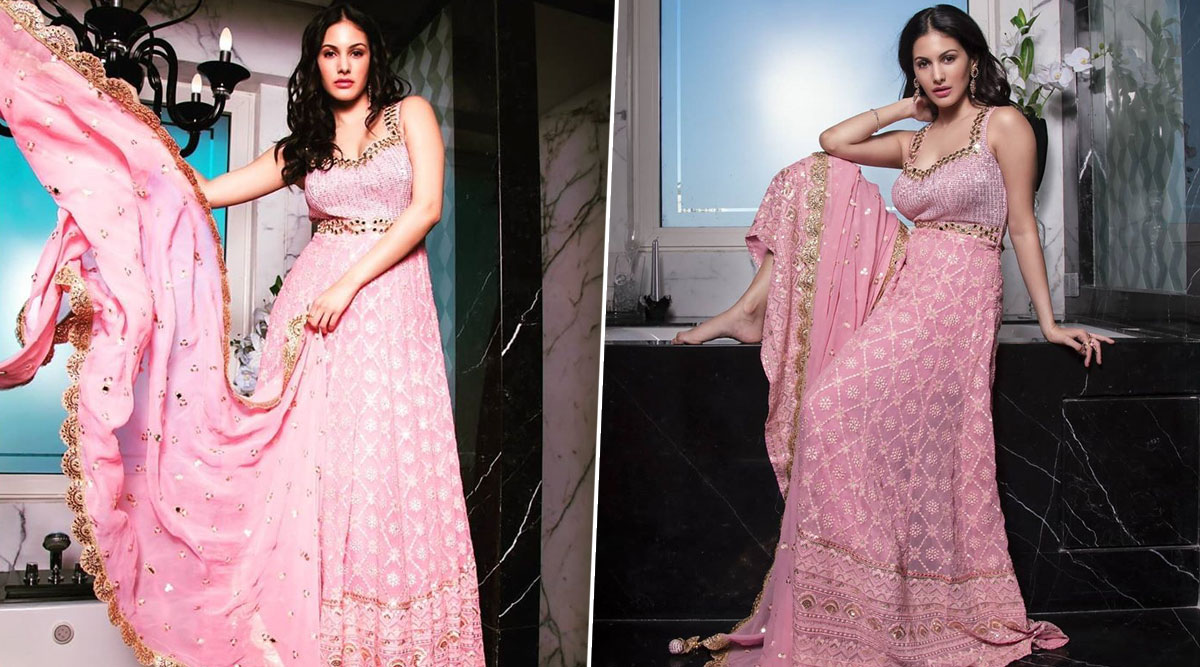 Amyra Dastur Is Calling All the Pinkaholics With This Desi Barbie Look for FabLook Magazine Photoshoot!