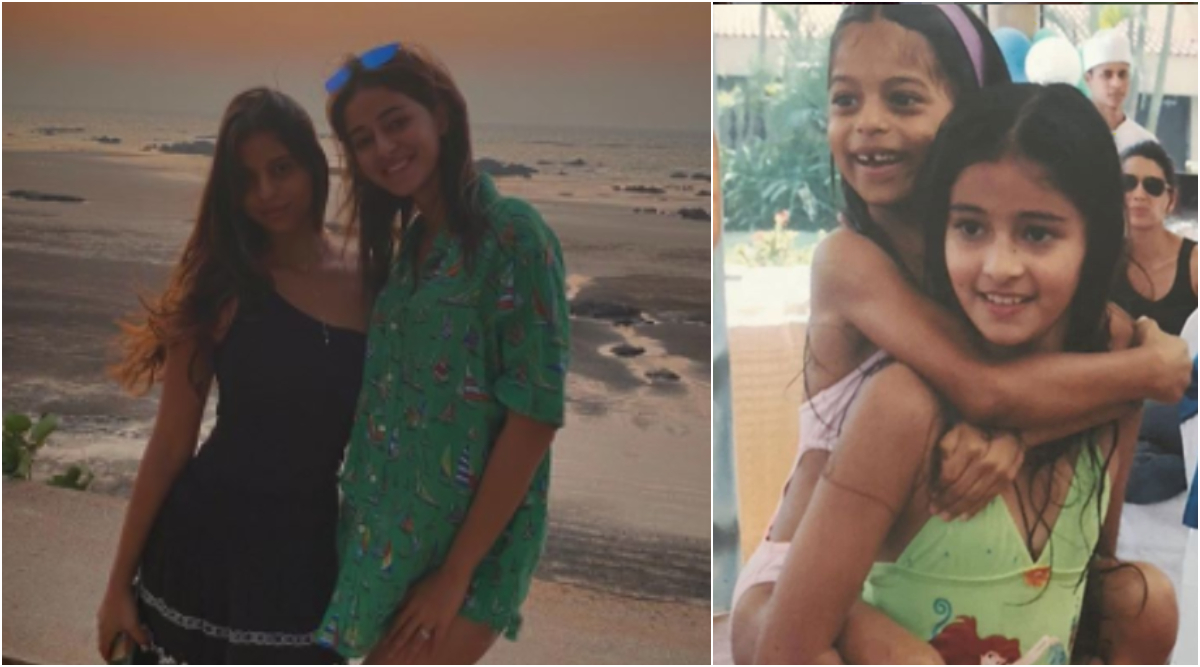 Ananya Panday Shares Adorable Childhood Pictures With Birthday Girl Suhana Khan, Says 'Always Got Your Back'! (View Pics)