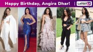 Angira Dhar Birthday Special: Spinning an Outrageously Cute, Coy, Cool Girl-Next-Door Approved Fashion Vibe!