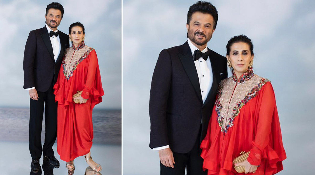 Anil Kapoor Gets a 'Love Beyond Time' Wish From Wifey Sunita Kapoor on the Couple's 36th Wedding Anniversary (View Post)