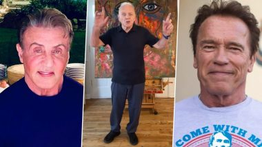 Anthony Hopkins, Aged 82, Nails the Toosie Slide Challenge on TikTok! Actor Asks Arnold Schwarzenegger and Sylvester Stallone to Take the Dance Challenge