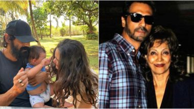 Arjun Rampal Wishes Girlfriend Gabriella Demetriades on Her First Mother's Day, Also Shares a Beautiful Post Thanking His Mom For Her Love and Support