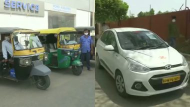 Rajasthan Govt Issues SOPs for Taxis and Auto-Rickshaws to Travel To and From Railway Station, Airport and Hospitals; Here Are All Details