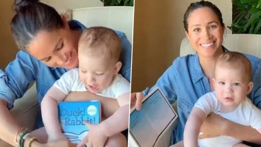 Baby Archie Turns 1! Meghan Markle Reads to Her Toddler Son on His Birthday in New Adorable Video Filmed by Prince Harry