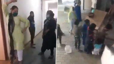 Mumbai-returned Bar Dancers, Colleagues Create Ruckus at Moradabad Quarantine Centre Over Liquor; Watch Video