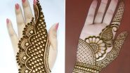 Vat Purnima Vrat 2020 Easy Mehendi Designs: Quick And Easy DIY Patterns to Adorn Your Hands On the Auspicious Festival (Watch Videos)
