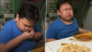 Aww! Boy Cries Happy Tears After His Mother Buys First McDonald's Since Lockdown in Singapore, Heartwarming Video Goes Viral