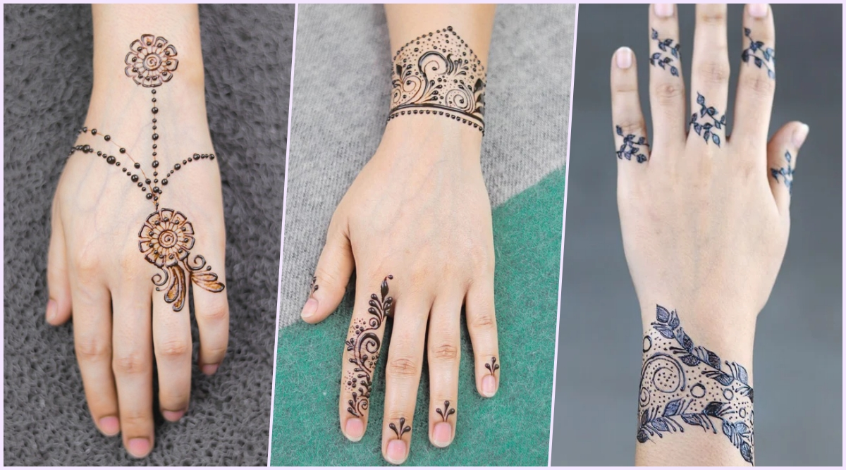25 Magnificent Henna Cuff Designs For Inspiration: 5-Minute Easy And Quick Mehndi Designs For Eid Al-Fitr