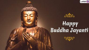 Happy Buddha Jayanti 2020 HD Images & Vesak Day Wishes: Celebrate Buddha Purnima With These WhatsApp Stickers, GIF Greetings, Quotes and Facebook Messages