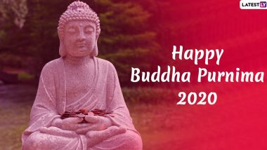 Buddha Purnima 2020 Marathi HD Images & Vesak Day Wallpapers for Free Download Online: WhatsApp Stickers, Messages and Greetings to Wish Happy Buddha Jayanti