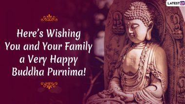 Happy Buddha Purnima 2020 Wishes & HD Images: Send Vesak Day WhatsApp Stickers, Buddha Jayanti Messages, GIFs & SMS to Celebrate Gautama Buddha's Birthday