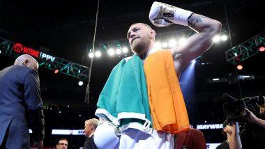 Conor McGregor Ready for Boxing Return, Accepts Challenge From Oscar De La Hoya