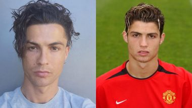 Cristiano Ronaldo's New Wavy Hairdo Is a Throwback to His Younger Days at Manchester United (See Post)