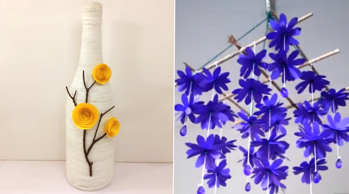 DIY Home Decor Ideas From Decorated Wine Bottles to Paper Wind ...