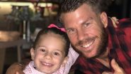 David Warner Shares Old Photo of Daughter Ivy Mae, Says She Is Growing Up Very Fast