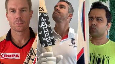 David Warner, Kevin Pietersen and Aakash Chopra Find 'Magic Bat' in This Funny Video