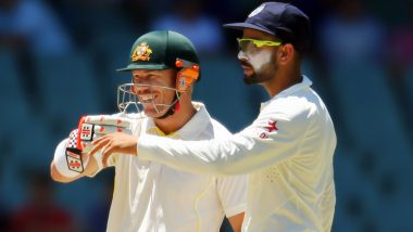 David Warner Not Looking to Sledge Virat Kohli During India Tour of Australia 2020–21, Says 'No Point in Poking the Bear'
