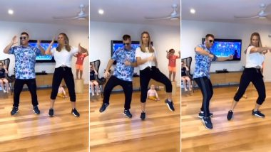 David Warner and Wife Candice Groove to Mahesh Babu's Famous Song 'Mind Block' In Latest TikTok Video