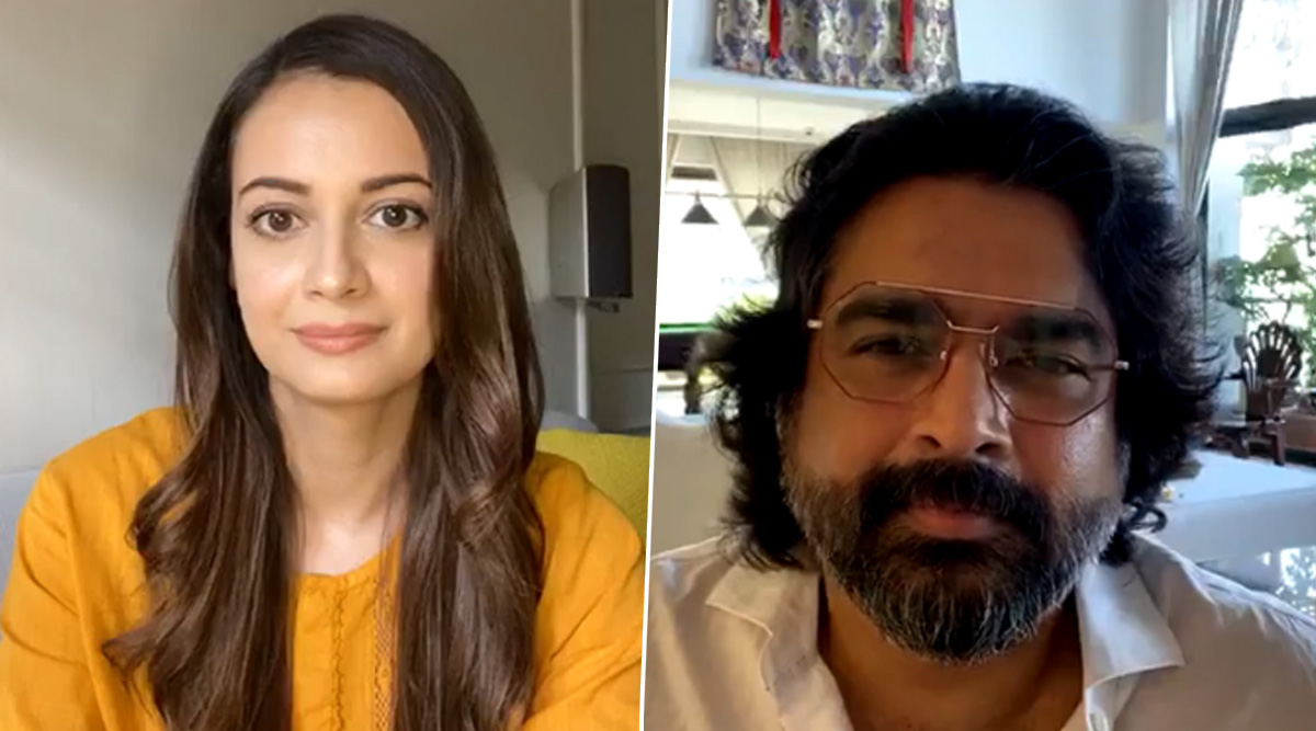 RHTDM Reunion! Dia Mirza and R Madhavan Collaborate For a Chit-Chat On Nature and Animals (Watch Video)