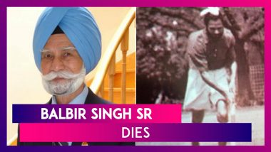 Balbir Singh Sr Dies At 95: Journey of Three-time Olympic Gold Medalist Hockey Legend