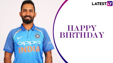 Dinesh Karthik Birthday Special: Check Out 5 Quick Facts About Wicketkeeper Batsman
