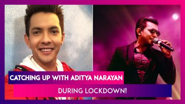Aditya Narayan On Making Music For a Cause During Lockdown!