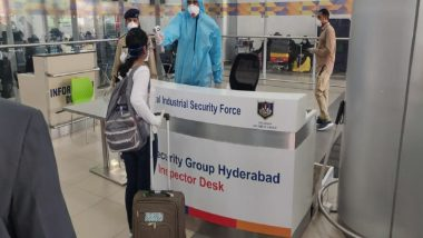 Hyderabad: Rajiv Gandhi International Airport Gets UNICEF-Funded Mass Fever Screening System