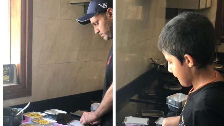 Virender Sehwag Sends Home-Cooked Food for Migrant Workers, Urges Followers to Donate (See Pics)