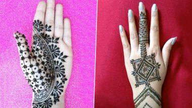 very easy and beautiful mehndi design