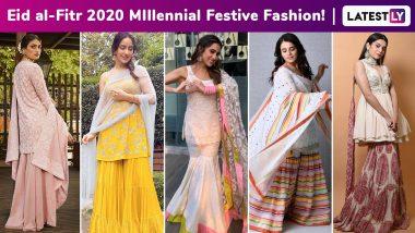 Eid Al-Fitr 2020: Sara Ali Khan, Ananya Panday, Alia Bhatt, Mithila Palkar, Kriti Sanon Give a Millennial Spin to the Festive Sharara!
