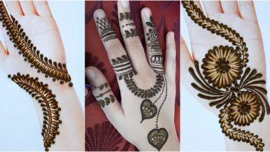 latest simple mehandi designs