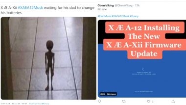 Elon Musk Son's Name Changed to X Æ A-Xii But The Memes Remain Constant, Netizens Make Funny Jokes Calling it 'Software Update'