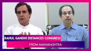 Rahul Gandhi On Maharashtra: Difference Between Supporting The Govt & Being A Key Decision Maker