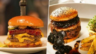National Burger Day 2020: Mouth-Watering Burgers From Around The World That Every Fast Food Lover Should Try Atleast Once