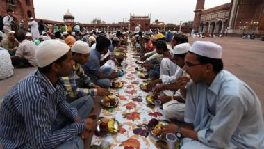 Ramzan 2021 Time Table: Sehri And Iftar Timings For 6th Roza of Ramadan on April 19 in Mumbai, Delhi, Lucknow, Kolkata And Other Cities of India