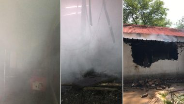 Fire Breaks Out at Army Canteen in Delhi Cantonment, 8 Fire Tenders Rush to The Spot